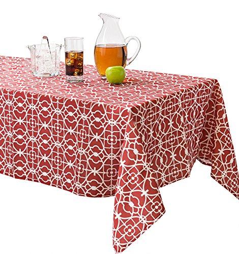 Benson Mills Geo Indoor/outdoor Spillproof Tablecloth