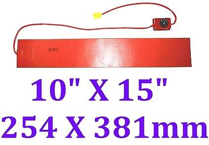 Amazon.com: Manta de calor con control de pomo de 3.9 x 5.9 ...