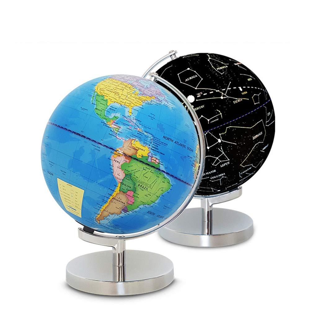 GH DQY- 2 In 1 Globus Erde und Konstellationen Konstellationen Konstellationen - Geografische Region aktualisiert - Weltkarte für 25cm-Desktop a3f7cd
