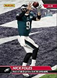 NICK FOLES PANINI INSTANT CARD #554 EAGLES CATCH MAKES SUPER BOWL LII HISTORY