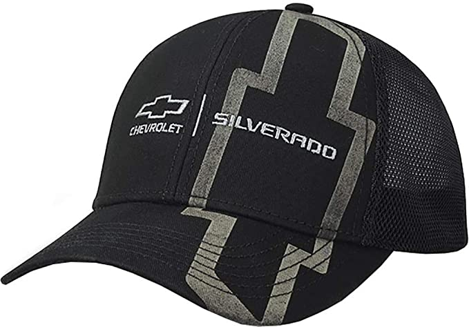 686caa4467f Amazon.com  Silverado Big Bowtie Hat (Black) One Size  Clothing