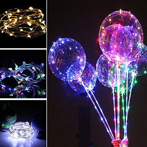light d up e balloons heart l