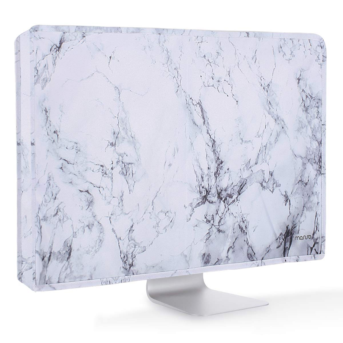 Space Gray Desktop Computer and TV MOSISO Monitor Dust Cover 22 25 Inch Anti-static LCD//LED//HD Panel Case Screen Dispaly Protective Sleeve Compatible 22-25 Inch iMac PC 23 24