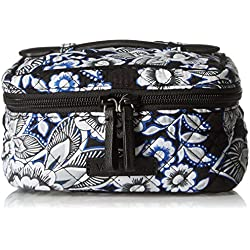 Vera Bradley Women's Iconic Jewelry Case, Snow Lotus