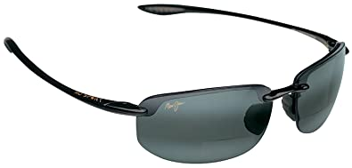 7a3ada79bf6d7f Maui Jim G807-0215 Hookipa black neutral grey polarized lens Readers +1.5