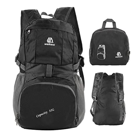 f2b2bdc2d064 Vbestlife Hiking Backpack - Waterproof Outdoor Lightweight Packable Durable  Travel Hiking Backpack Daypack for Camping