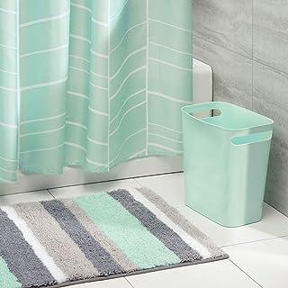 motivo: fiori colorati e unicorno Set di 3/tappetini da bagno con tappeto da WC copriasse WC e tappetino da bagno Bearbae
