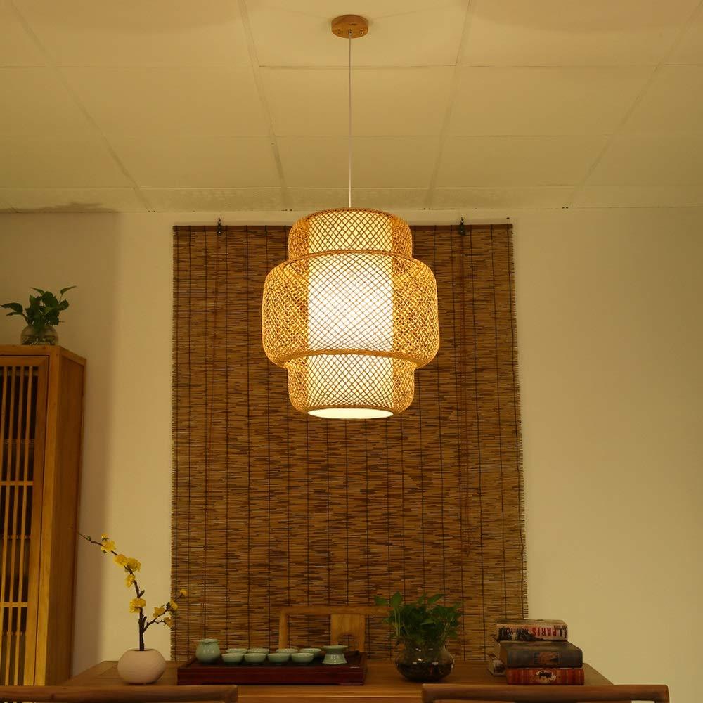 PCS模倣羊革籐シャンデリアホテルレストラン照明手作り竹シャンデリアAP604928PY B07J53QH24