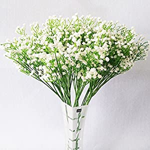Gotian 10PCS Artificial Fake Flowers Sky Stars Floral Wedding Bouquet Party Home Garden Decoration Party Birthday Gift 43