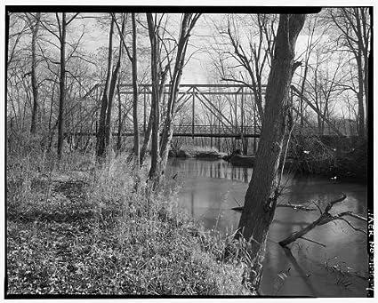Amazon com: HistoricalFindings Photo: Shaytown Road Bridge