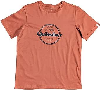 Quiksilver Words Remain Jr Camiseta de Manga Corta Niños