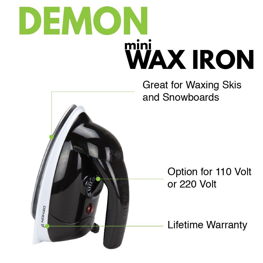 Demon Mini Ski/Snowboard Waxing Iron