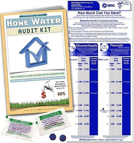 Hogar Agua Grifo de la auditoría Kit – Medidor de flujo ...