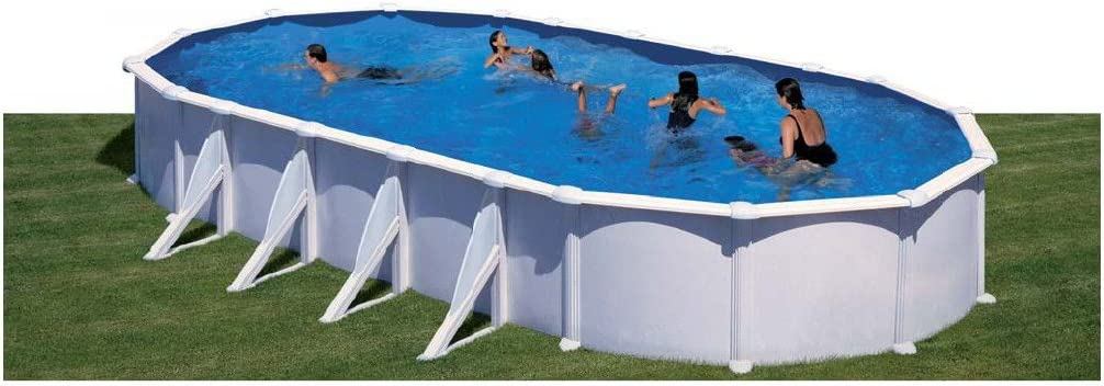 Piscina Gre Ovalada Atlantis 500x350x132 cm.: Amazon.es ...