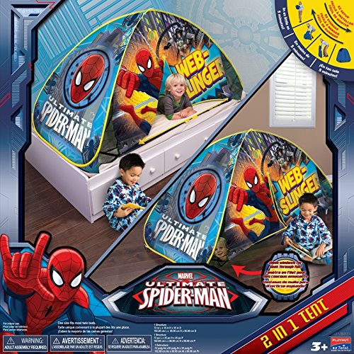 sc 1 st  Amazon.com & Amazon.com: Playhut Spiderman Bed Tent: Toys u0026 Games