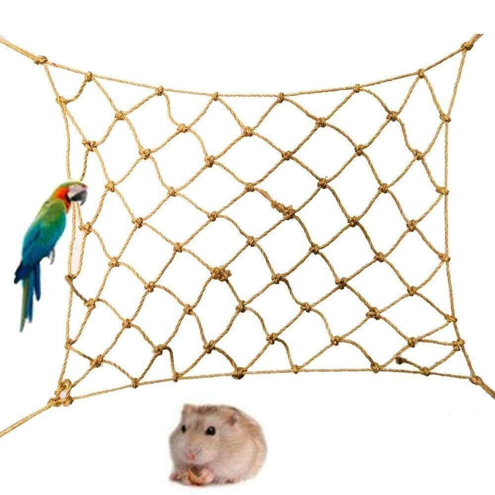 LXYFMS Pet Swing, Small Animal Climbing Net, Hamster Toy Net, Protection Network by LXYFMS