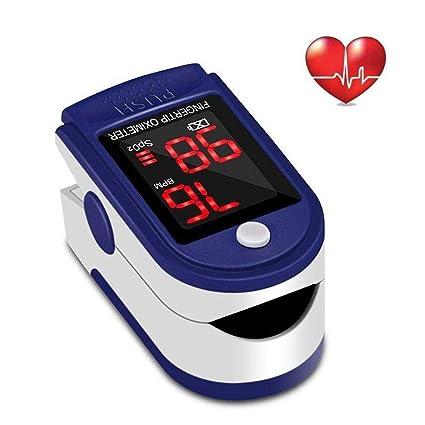 Dedo oxímetro de pulso Monitor de frecuencia cardíaca Sensor de SPO2 de saturación de oxígeno en
