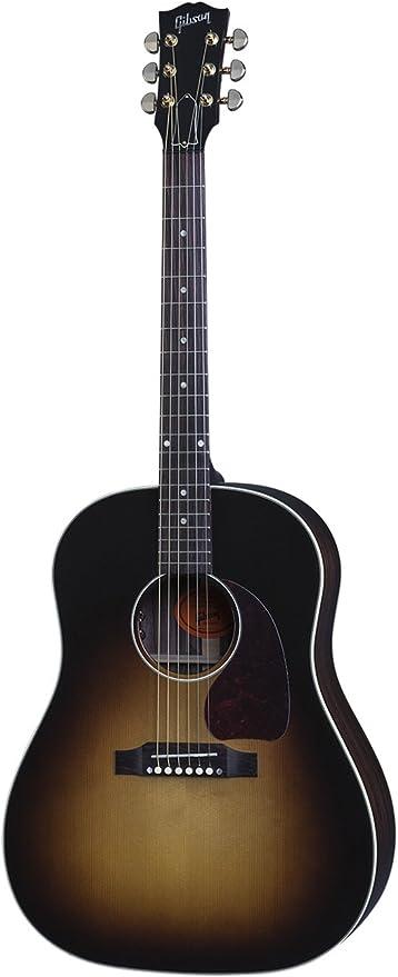 Gibson Acoustic RS45RSNH1 J45 - Guitarra Eléctrica (incluye estuche rígido), rojo palisandro: Amazon.es: Instrumentos musicales