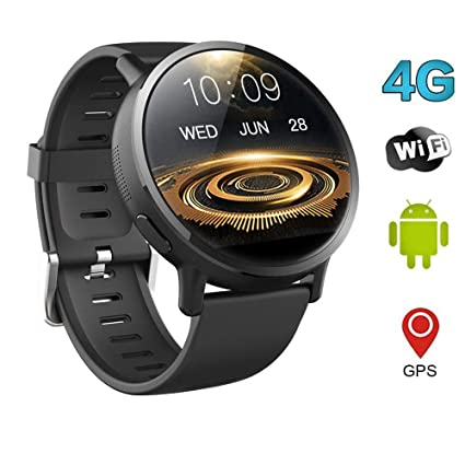 QKa Smartwatch Android 7.1 4G 2.03 Pulgadas 900Mah 8MP Cámara Ip67 ...