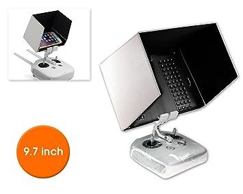 Favrison FPV Phone Monitor Sun Shade Cover Tablet Sun Hood for DJI Mavic 2 Pro//Zoom,Phantom 4//3,Mavic Pro,Inspire,OSMO,M600 Monitor Remote Controll for IPad mini2//3//4,Samsung Galaxy Tab A//S2