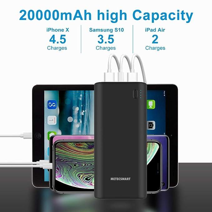 Amazon.com: Cargador de teléfono móvil portátil de carga ...