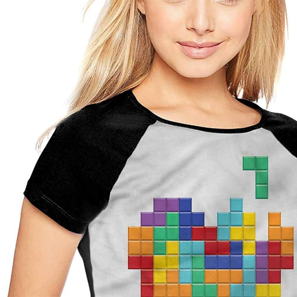 Raglan Short Sleeve Shirts,90s,Hand-Drawn Retro Music Boombox S-XXL Summer Womens Short Sleeve T-Shirt