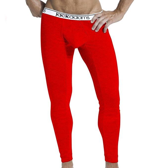 Jack Adams Hombre Core Long John Underwear Ropa Interior Calzoncillos Rojo Large