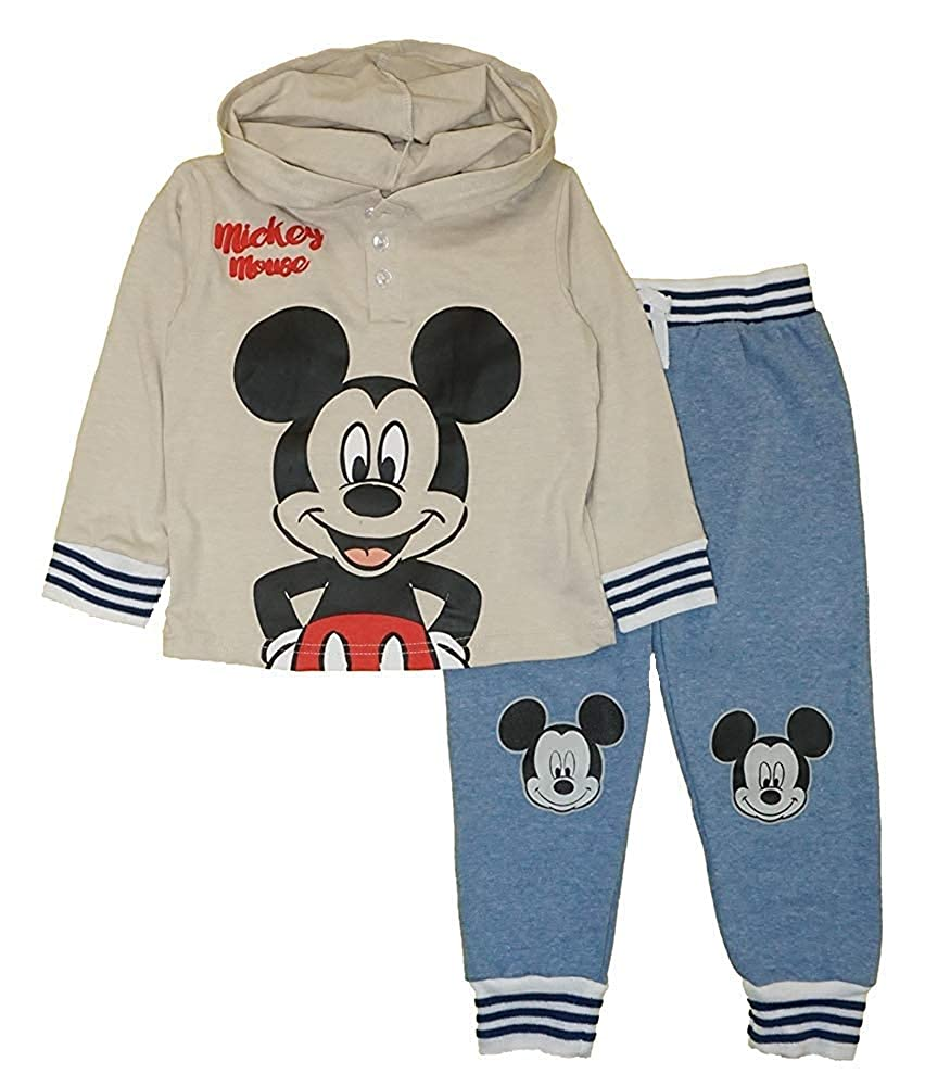 Disney Mickey Mouse Toddler Boys 2-Pieces Hoodie and Pants Set
