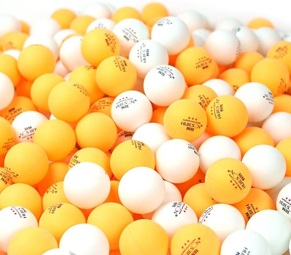 1.57in de diam/ètre 2.9g Balle de Tennis de Table Professionnelle pour lentra/înement de comp/étition Goodde 6pcs balles de ping-Pong 3 /étoiles 40mm