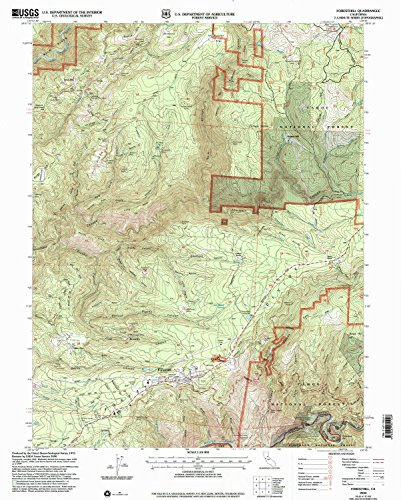 Foresthill CA topo map, 1:24000 scale, 7.5 X 7.5 Minute, Historical, 2000, updated 2003, 26.7 x 21.4 IN - - Sugarloaf Mills Map