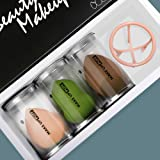 Sebami Esponja Maquillaje, Makeup Beauty Esponjas para Maquillaje Facial Caja de Regalo Set de Makeup Blender Beauty…