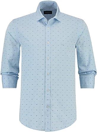 McGregor Camisa Oscar Hill Azul XL Azul: Amazon.es: Ropa y accesorios