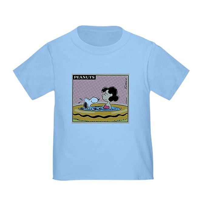 f71d695cf64 Amazon.com  CafePress - Peanuts Snoopy Swimming Pool Toddler T-Shirt ...