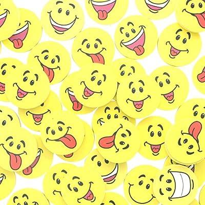 Fun Express Large Smile Face Erasers (4 Dozen): Toys & Games