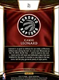 2018-19 Select Basketball #93 Kawhi Leonard Toronto