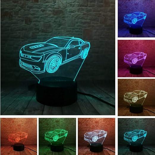 Fyyanm Classic 3D Car Jalopy Led Visual Night Light Creative ...