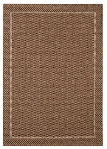 Balta Rugs 39013073.160225.1 Wellington Brown Indoor/Outdoor Area Rug, 5' x (Look Indoor Outdoor Area Rug)