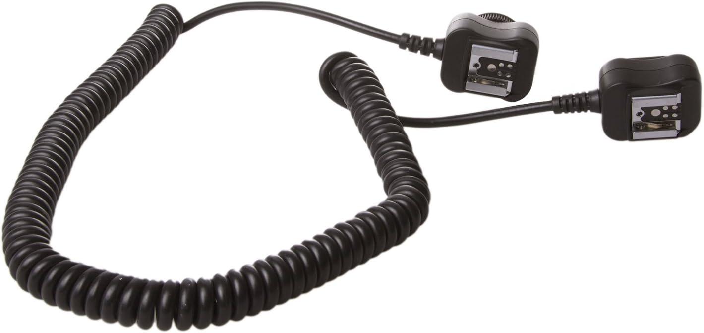 StudioPRO 9 TTL Coiled Remote Cord for Canon Flash Photography Photo Studio Flash Accessory