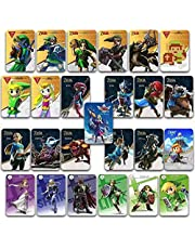25PCS Zelda Skyward Sword Breath of the Wild NFC amiibo Game Cards for Switch