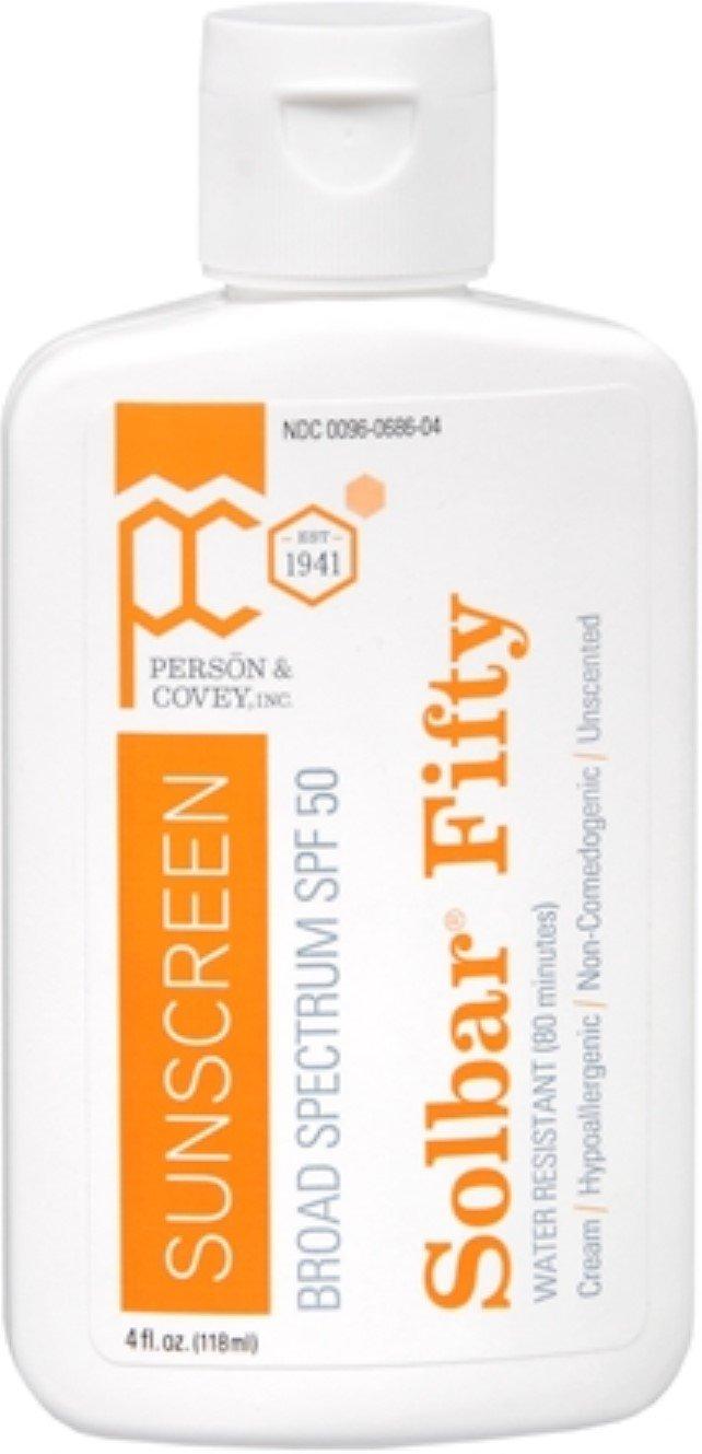 Solbar PF Sunscreen Cream SPF 50 4 oz (Pack of 9)