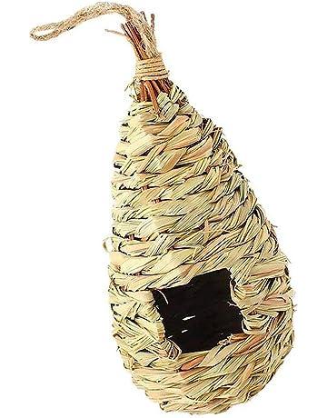 Ogquaton Ornamento Creativo del jardín de la jerarquía del pájaro de la casa del pájaro de
