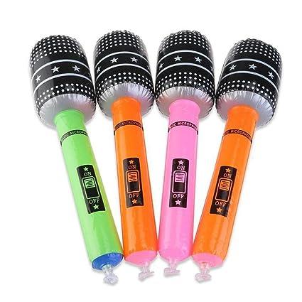 Amazon.com: Favores de fiesta – Color al azar 6 piezas Blow ...
