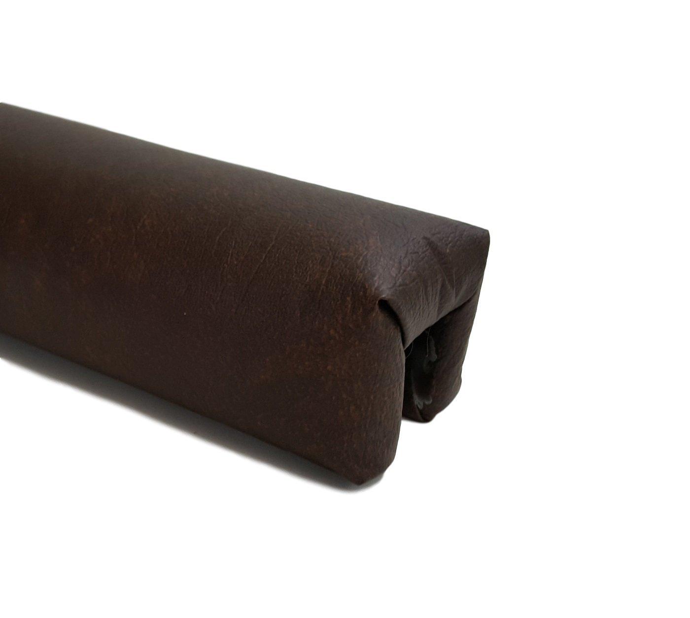 2 pc Waterbed Vinyl Padded Rails - Dark Brown by Flotation Innovations