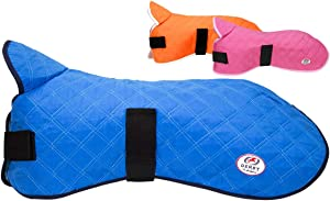 Derby Originals Hydro Cooling Dog Jacket Vest, Reflects Heat & Keeps Dogs Cool for Hours