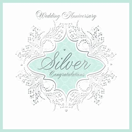 25th Silver Wedding Anniversary Invitations Pack Of 6 Quality Cards Envelopes
