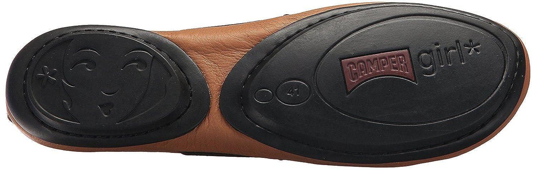 CAMPER CAMPER CAMPER Right Nina 21595 Braun Schwarz Damen Leder Schuhe - 8b1f0d