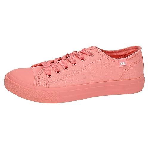 XTI 46985 Zapatillas DE Lona Mujer Zapatillas: Amazon.es: Zapatos y complementos
