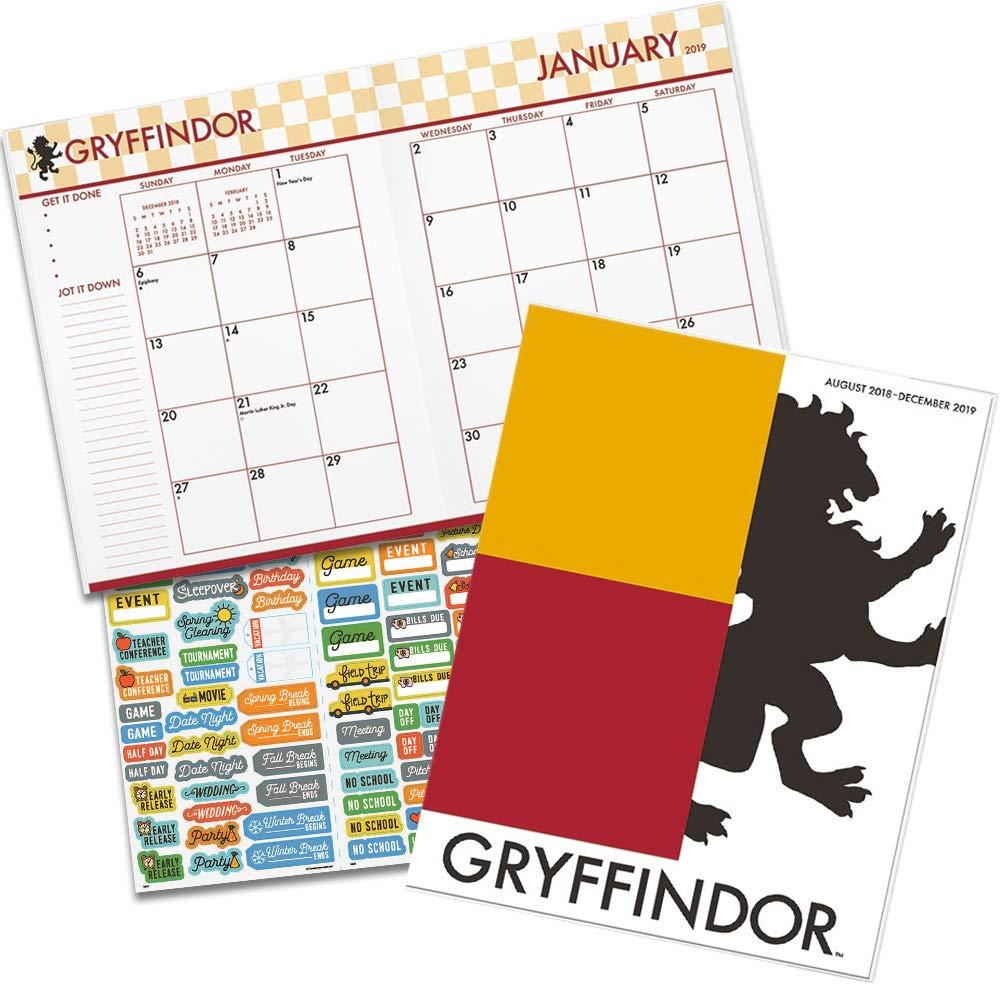 Amazon.com: Harry Potter Planificador mensual 2019 Set ...