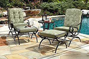 5 Piece Seating Set Green - Jaclyn Smith Cora
