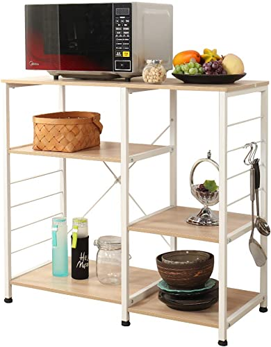 Soges Multi-layers Kitchen Baker's Rack Utility Microwave Oven Stand Storage Cart Workstation Shelf